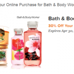 Bath & Body Works: 30% Off Online Promo Code (LivingSocial)