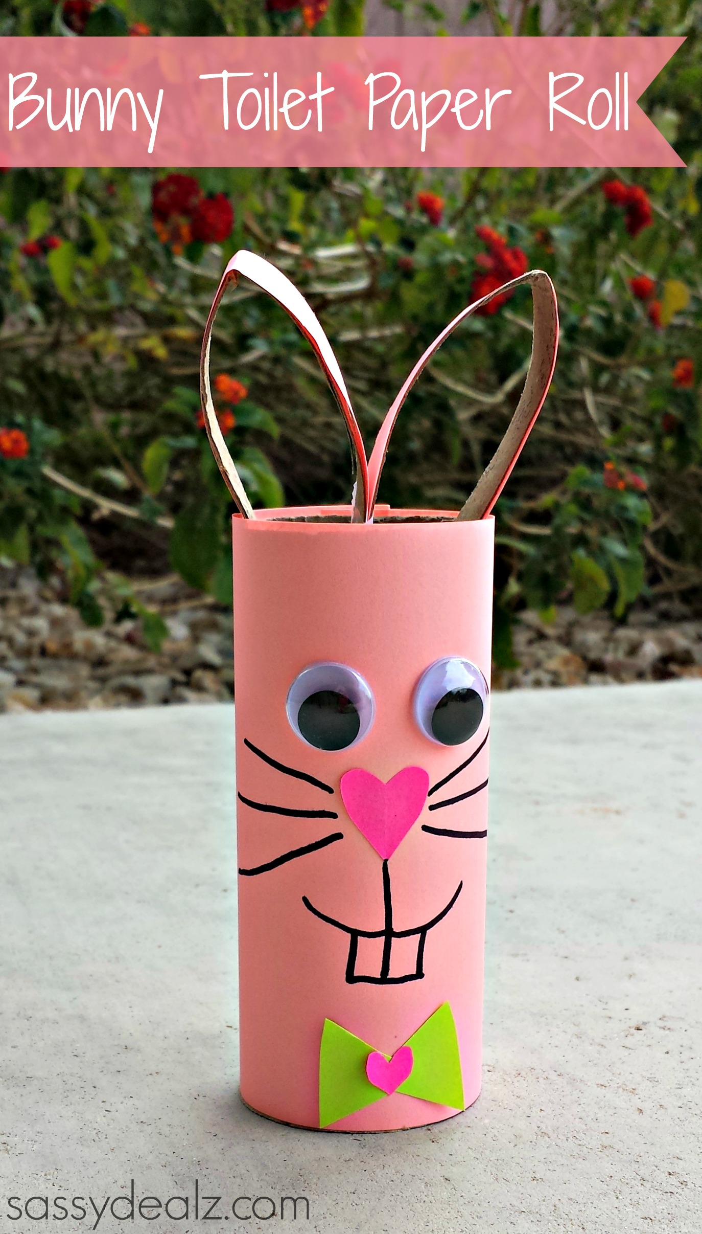 Bunny Rabbit Toilet Paper Roll Craft For Kids Crafty Morning