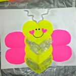 Butterfly Love Bug Valentine's Day Craft For Kids