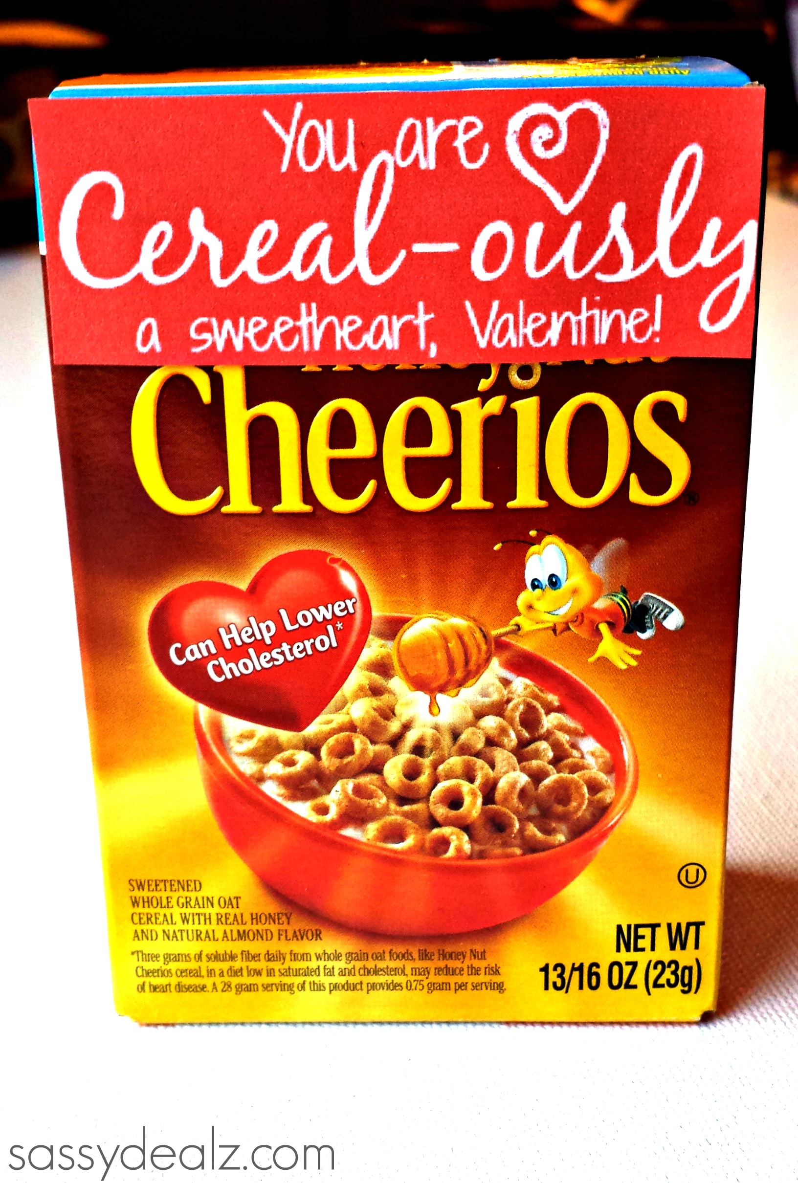 cereal-ously valentine gift