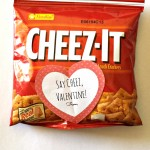 Cheez-It Crackers Valentine's Day Gift Bag Idea For Kids