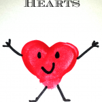 Valentine Heart Fingerprint Craft For Kids (DIY Card Idea)