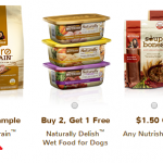 Free Sample of Rachael Ray's Zero Grain Dog Food