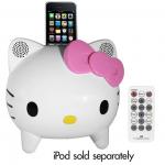 Hello Kitty Stereo Speaker System Only $16.99 (Reg $99)