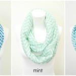 Light Knit Chevron Infinity Scarf Only $6.95 Shipped