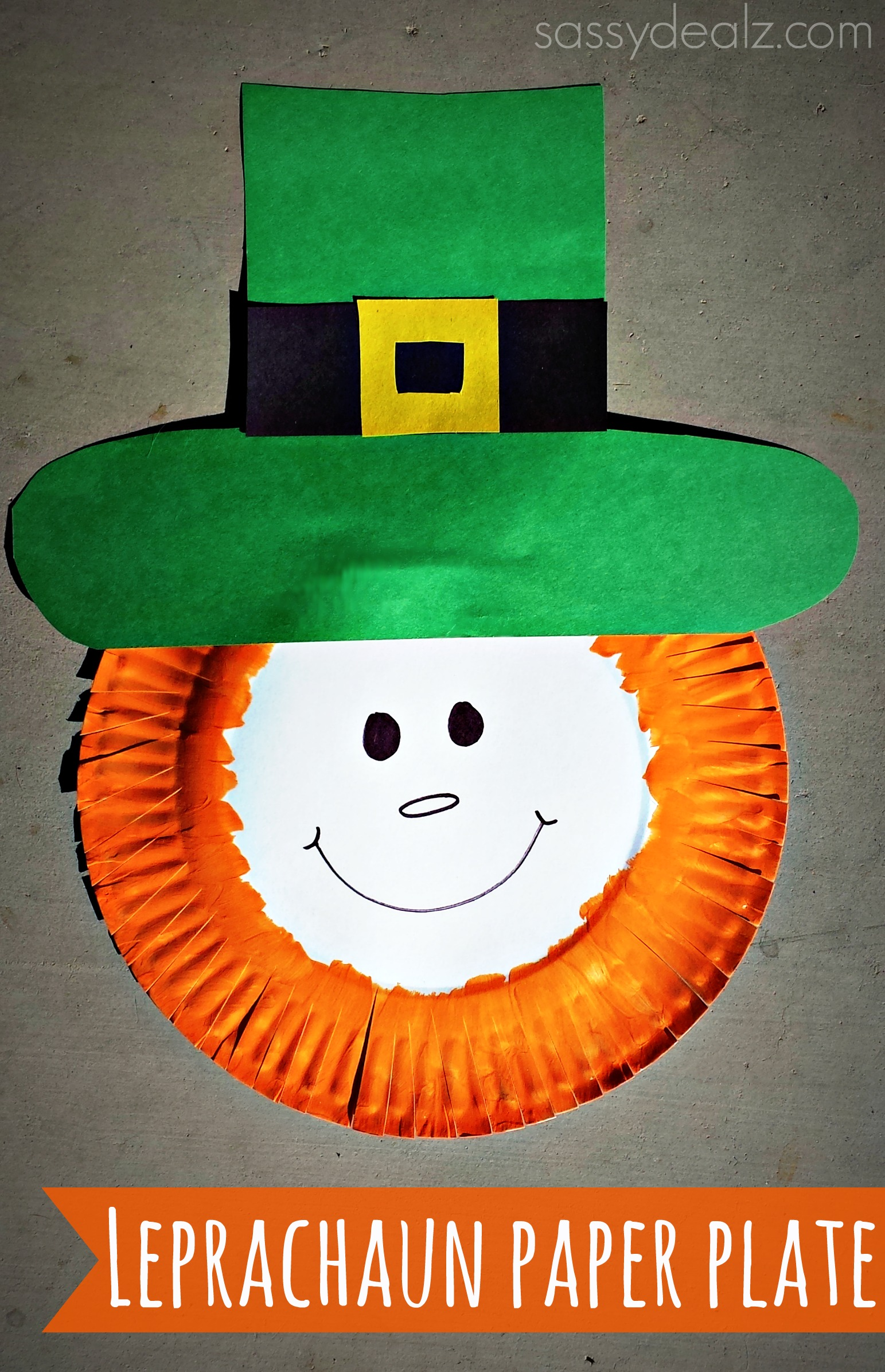 St Patrick S Crafts For Toddlers Using Paper Plates