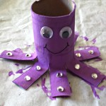 Octopus Toilet Paper Roll Craft For Kids