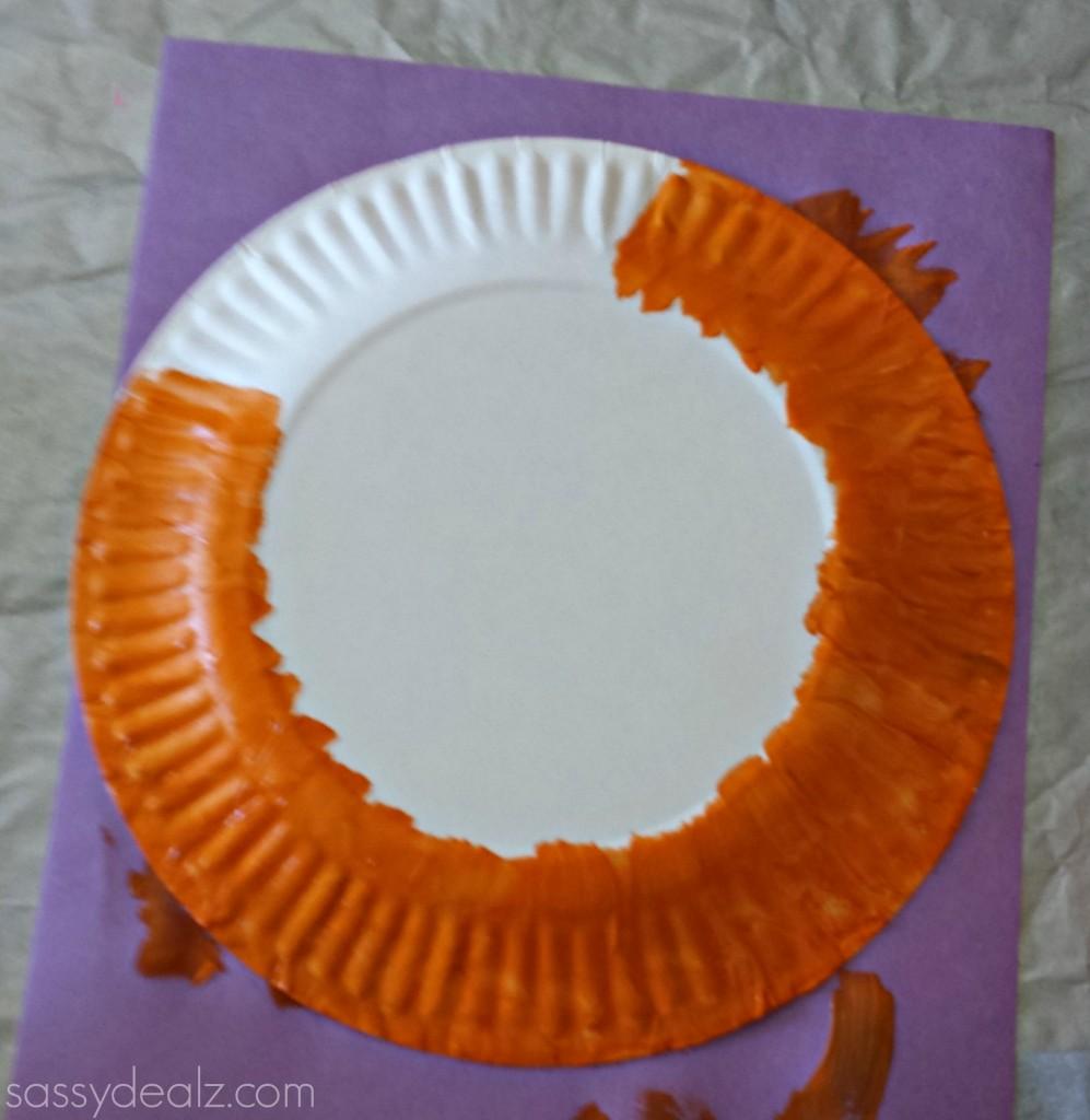 paper plate leprachaun craft