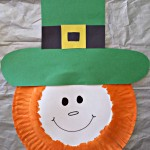 Paper Plate Leprechaun Craft For Kids