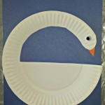 DIY Swan Paper Plate Craft For Kids
