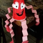 Red Solo Cup Valentine's Day Craft For Kids {Heart Man}