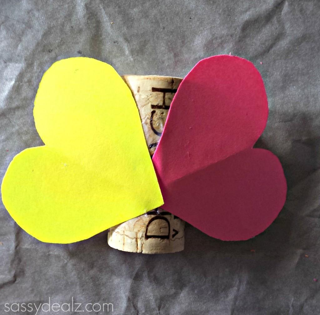 wine cork butterfly