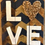 DIY Wood Pallet Love Sign