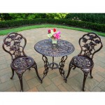 Walmart: Rose 3-Piece Bistro Patio Set Only $99 + Free Shipping! (Reg $149!)