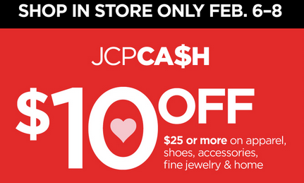 $10 off $25 jcpenney coupon