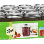 Set of 12 Ball Jar Crystal Jelly Jars (8oz) with Lids and Bands ONLY $10 Shipped!