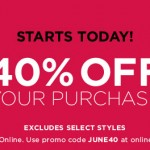 The Limited 40% Off Promo Code In Store and Online