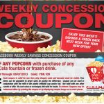 Cinemark – Get $2 Off Any Popcorn w/ Drink Purchase Printable Coupon (Valid 8/1-8/7)