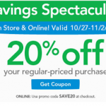ToysRUs: Get 20% Off Your Regular Priced Purchase Online & In-Store! (Exp 11/2)