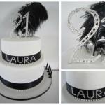 21st Birthday Cake and Cupcake Ideas