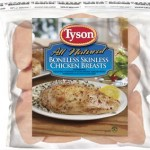 *RARE* $2.50 off One Package of Tyson Frozen Boneless Chicken Printable Coupon
