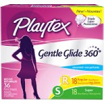 HIGH VALUE $3 Off One Playtex Gentle Glide Tampons Printable Coupon