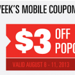 Regal Cinemas- Get $3 off Popcorn w/ Mobile Coupon (Valid August 8th-11th)