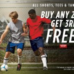 Champion Athleticwear Sale – Buy any 2 Shorts, Tees or Tanks & 3rd is FREE!