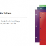 Target- Get 2 Five-Star Folders + Up & Up School Supplies for FREE w/ Printable Coupons!