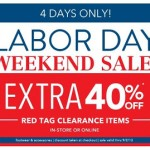 Payless Shoes- Get an Extra 40% off Clearance Items In-Stores & Online! (8/30-9/2)
