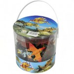 Giant Bucket of Dinosaur Action Figures Playset Only $14.95 (Originally $29.95!)