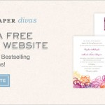 Create a FREE Wedding Website from WeddingPaper Divas!