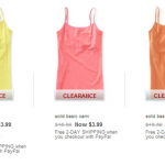 Aeropostale: Solid Basic Cami's ONLY $3.99 + Free Shipping (Reg $16.50!)