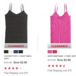 Aeropostale: $2.99 Camis & $1.99 Panties + FREE Shipping!