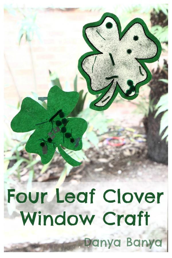 four leaf clover craft
