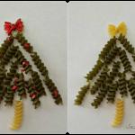 DIY: Noodle Christmas Tree Craft For Kids (Handmade Card Idea)
