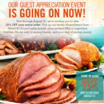 Honeybaked Ham- Get 25% off Your Entire Order (Printable Coupon Exp. 8/31)