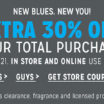 Aeropostale – 30% Off Your Total Purchase w/ Online Promo Code or In-Store Printable Coupon (Thru 7/21)