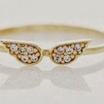 Gold Angel Wing Ring ONLY $1.19 Shipped (Reg $7.98!)