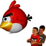 Angry Birds Air Swimmers Turbo – RED Flying Remote Control Balloon Toy 78% Off!