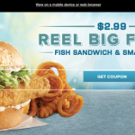 Arby's: $2.99 Fish Sandwich + Small Fries Coupon (Exp 2/11)
