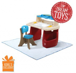 Kohls: Step2 Deluxe Art Desk with Splat Mat Only $51.99 Shipped (Reg $99.99!)