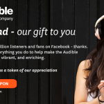 FREE Audible $5 Credit For Your Account!