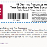 Bakers Square – $5 Off Two Entrees and Beverages Printable Coupon