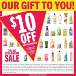 Bath and Body Works $10 off a $30 Purchase Promo Code & Printable Coupon