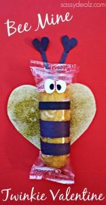 bumble bee valentine