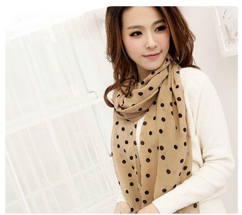 beige-polka-dot-scarf