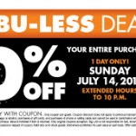 Big Lots 20% Off Entire Purchase Printable Coupon – July 14th ONLY (Friends & Family Day)