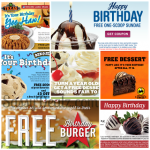 Birthday Freebies and Coupons List 2014 (Restaurants & Fast Food Places)