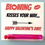 Blowing Bubbles Valentine's Day Gift Idea